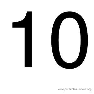 printable_number_10
