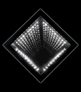A infinity-optics-light-tunnel