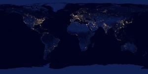 A terra-notte