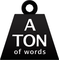 ton of words logo