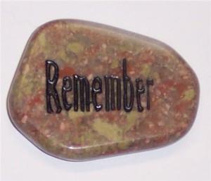 Aengraved-word-stone-autumn-jasper-remember