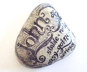 Ajohn name stone_003