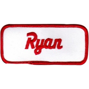 Aryan-name-patch-with-merrow-border-red-white