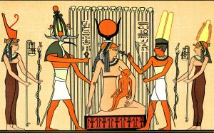 Isis_suckling_Horus