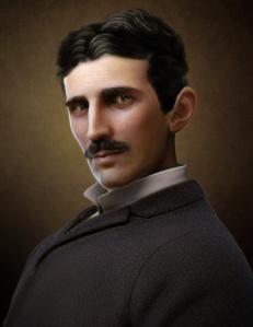 Nikola Tesla 3D