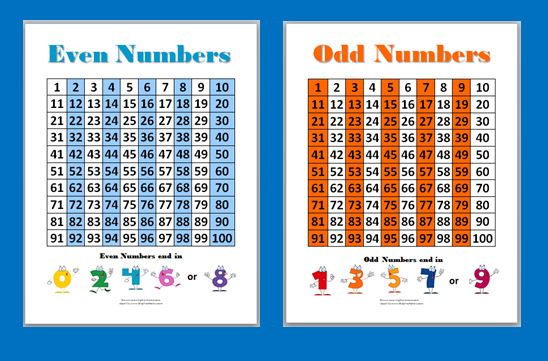 Worksheets Even Numbers List 1-100 common worksheets chart of odd numbers preschool and john 11 athon ii kylegrant76
