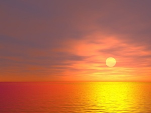 SUNSET_ON_THE_WATER_Wallpaper__yvt2