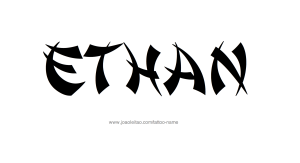 tattoo-design-male-name-ethan (31)