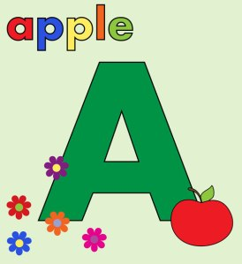 Aalphabet-letter-a-colorful