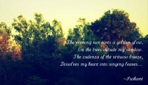 Athe-evening-sun-poem-sushant