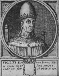 Image result for Pope Vigilius