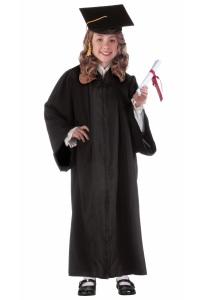 child-black-graduation-robe