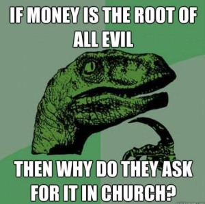 philosoraptor-money-at-church