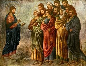 Christ sending His Apostles