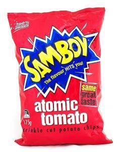 SamboyTomatoChips175g