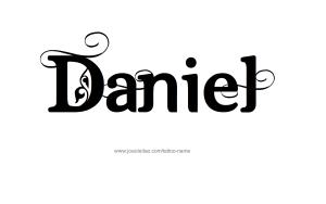 tattoo-design-male-name-daniel (17)