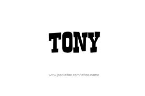 tattoo-design-name-tony-02