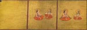 The_Emergence_of_Spirit_and_Matter_from_the_Shiva_Purana._Marwar,_1828,Mehrangarh_Museum_Trust.