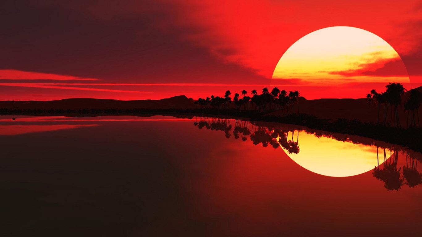 Sunrise Sunset Wallpaper 1366768 Kylegrant76