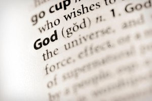 Dictionary Series - Religion: God