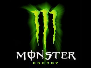 AMonster energy drink