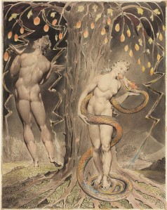 Athe-temptation-and-fall-of-eve-John Milton's Paradise Lost 1808 wikipaint