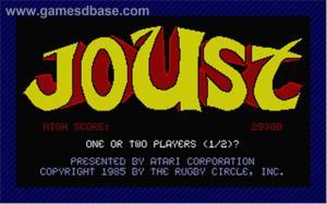Joust_-_1986_-_Atari