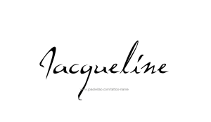 tattoo-design-name-jacqueline-01