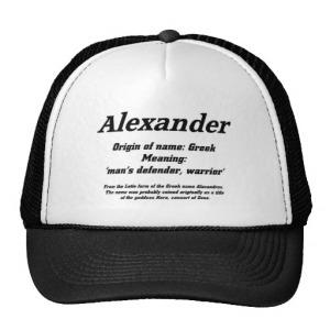 alexander_name_meaning_cap_hats-r6176a78cde694b44b76fd32b99c26a6b_v9wfy_8byvr_512