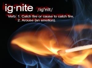 Ignite-definition