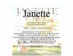 janette