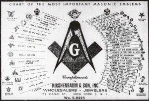 Amasonchart-od-masonic-emblems