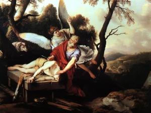 Abraham and IsaacLaurent de La Hire, 1650
