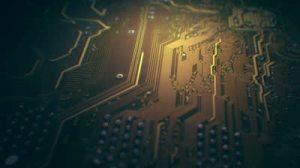 7stock-footage-printed-circuit-board