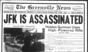 Ajfk-assassination-greenville-news-headline