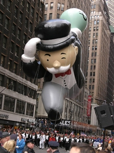 MR.MONOLOPOLY Macy's Thanksgiving day Parade New York City, USA - 25.11.04 Credit: PNP/WENN