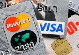FILE - This Nov. 18, 2009 file photo shows credit and bank cards with electronic chips in Gelsenkirchen, Germany. In the wake of recent high-profile data breaches, including this weeks revelation that hackers stole consumer data from eBays computer systems, Visa and MasterCard are renewing a push to speed the adoption of microchips into U.S. credit and debit cards. (AP Photo/Martin Meissner, File) cmoore@abqjournal.com Thu Aug 20 15:43:04 -0600 2015 1440106983 FILENAME: 197660.jpg
