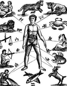 astrology human body