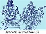 BRah ma & His consoRt SaRaswati
