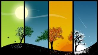 cool-4-seasons-spring-summer-autumn-winter
