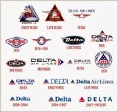 DeLta AiR Lines Logo Hi-s-tor-y