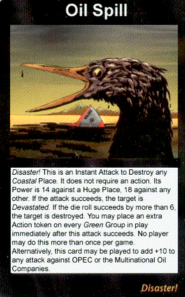 ILLUMINATI Card Game BP Oil Spill