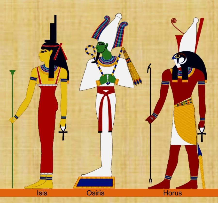 Isis, OsiRis y HoRus   kylegrant76