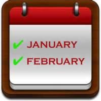 JanuARY FebRuARY MArch
