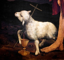 12.4.2009: from Matthias Grünewald, Isenheim altarpiece, 1512-1516, Musée Unterlinden, Colmar