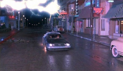 lightning-delorean