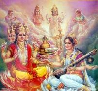 LoRd BRahma A-nd dn-A SaRaswati wat eR gaR d-E-n