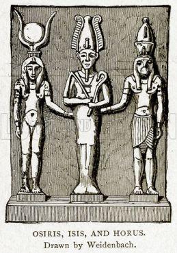 Osiris, Isis, and Horus