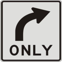 right-turn-only