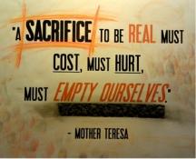 sacrificeliving